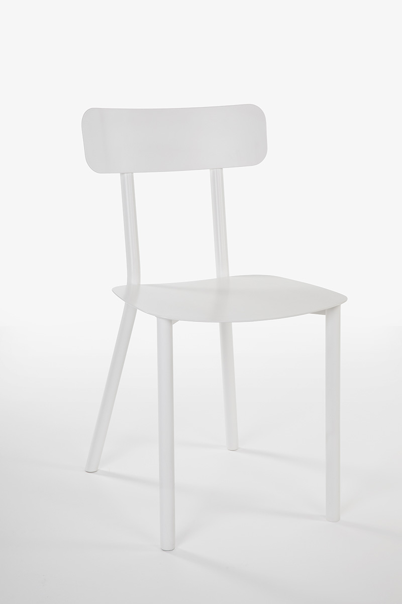 white light chair