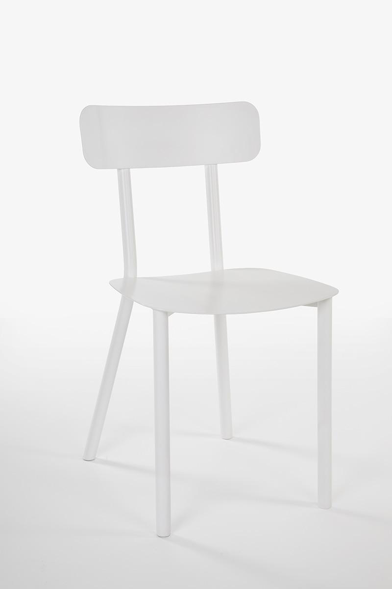 white light chair